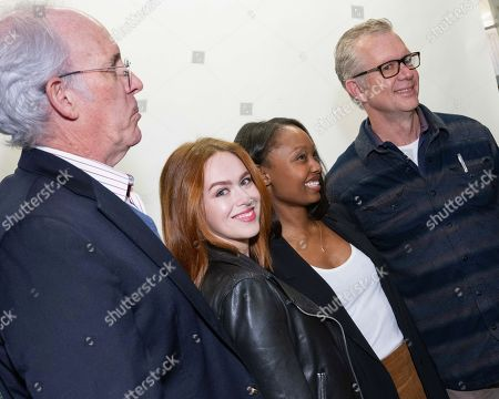 Stock Photo of Daryl Anderson, Elizabeth McLaughlin, Ashleigh LaThrop and Brett Barney