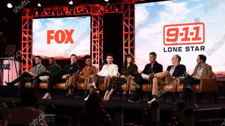 Editorial picture of Fox TCA Winter Press Tour, Panels, Los Angeles, USA - 07 Jan 2020
