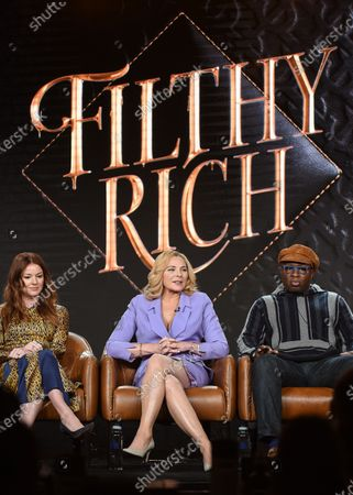Stock Picture of Aubrey Dollar, Kim Cattrall and Steve Harris