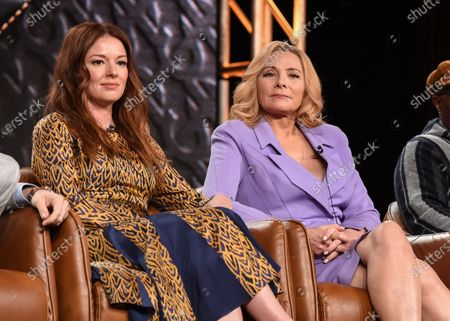Stock Photo of Aubrey Dollar and Kim Cattrall