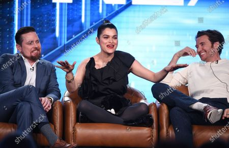 Michael Mosley, Eve Harlow and Jason Butler Harner