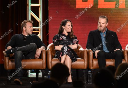 Stephen Dorff, Yara Martinez and Brian Van Holt