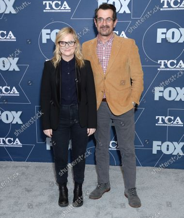 Amy Poehler and Ty Burrell