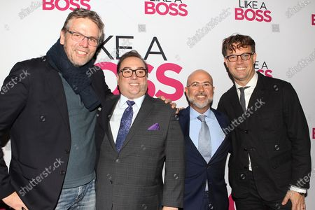 Editorial image of Paramount Pictures presents the World Premiere of 'Like A Boss' at SVA Theatre in New York City, USA - 07 Jan 2020