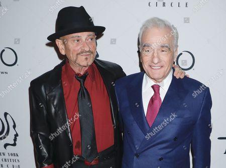 Stock Image of Joe Pesci and Martin Scorsese