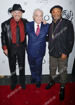 Stock Picture of Joe Pesci, Martin Scorsese and Spike Lee