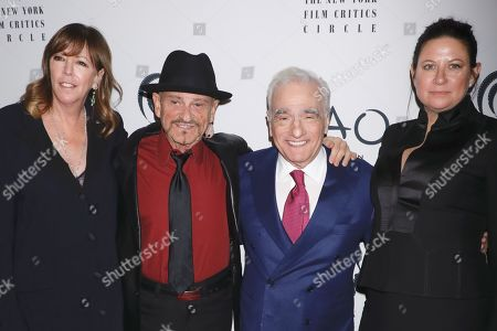 Jane Rosenthal, Joe Pesci, Martin Scorsese and Emma Tillinger Koskoff