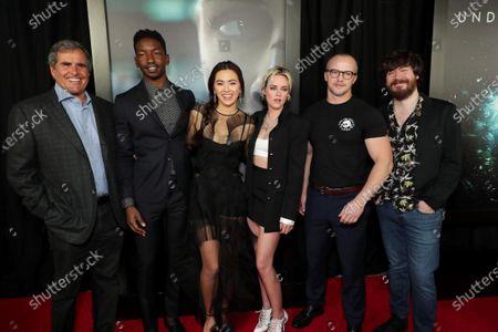 Peter Chernin, Producer, Mamoudou Athie, Jessica Henwick, Kristen Stewart, William Eubank, Director, John Gallagher Jr.