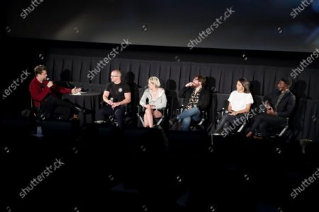 Andres Muschietti, Moderator, William Eubank, Director, Kristen Stewart, John Gallagher Jr., Jessica Henwick, Mamoudou Athie