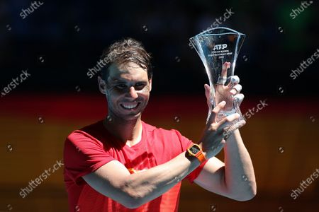 Editorial photo of ATP Cup tennis tournament, Perth, Australia - 08 Jan 2020