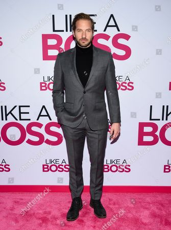 """Ryan Hansen attends the world premiere of """"Like a Boss"""" at the SVA Theatre, in New York"""