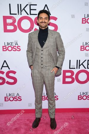 """Karan Soni attends the world premiere of """"Like a Boss"""" at the SVA Theatre, in New York"""