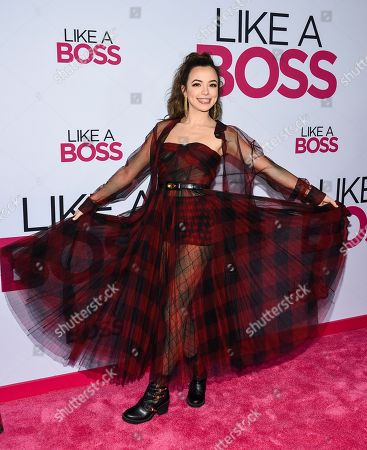 """Vanessa Merrell attends the world premiere of """"Like a Boss"""" at the SVA Theatre, in New York"""