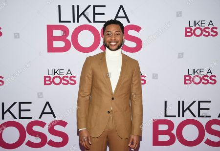 """Jacob Latimore attends the world premiere of """"Like a Boss"""" at the SVA Theatre, in New York"""