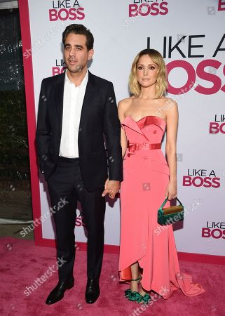 "Bobby Cannavale, Rose Byrne. Actors Bobby Cannavale, left, and Rose Byrne attend the world premiere of ""Like a Boss"" at the SVA Theatre, in New York"