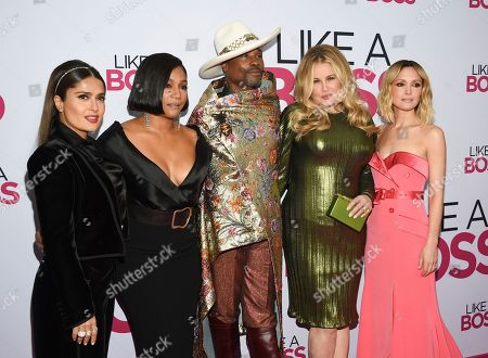 """Editorial picture of World Premiere of """"Like a Boss"""", New York, USA - 07 Jan 2020"""