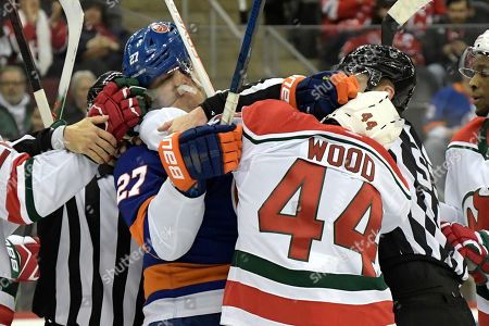 Editorial picture of Islanders Devils Hockey, Newark, USA - 07 Jan 2020