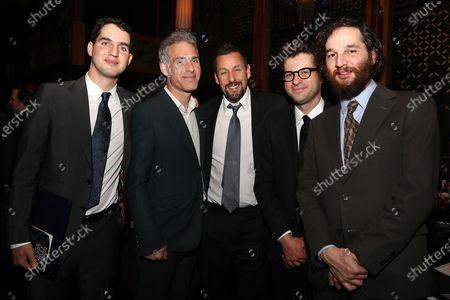 Ben Safdie, Ronald Bronstein, Adam Sandler, Eli Bush and Joshua Safdie