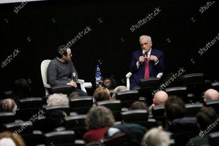 Stock Photo of Ari Aster and Martin Scorsese