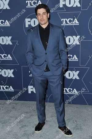 Jason Biggs attends the FOX All Star party at the Television Critics Association Winter press tour, in Los Angeles