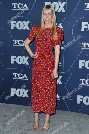 Riki Lindhome attends the FOX All Star party at the Television Critics Association Winter press tour, in Los Angeles