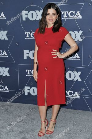 Jenna Dewan attends the FOX All Star party at the Television Critics Association Winter press tour, in Los Angeles