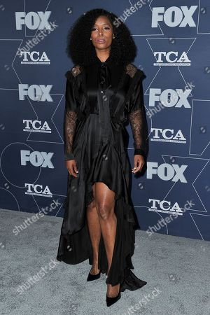 Tasha Smith attends the FOX All Star party at theTelevision Critics Association Winter press tour, in Pasadena, Calif