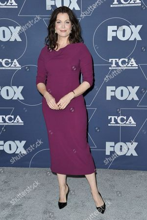 Bellamy Young attends the FOX All Star party at theTelevision Critics Association Winter press tour, in Pasadena, Calif