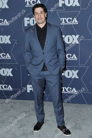 Jason Biggs attends the FOX All Star party at theTelevision Critics Association Winter press tour, in Pasadena, Calif