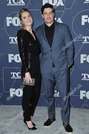 Maggie Lawson, Jason Biggs. Maggie Lawson, left, and Jason Biggs attend the FOX All Star party at theTelevision Critics Association Winter press tour, in Pasadena, Calif