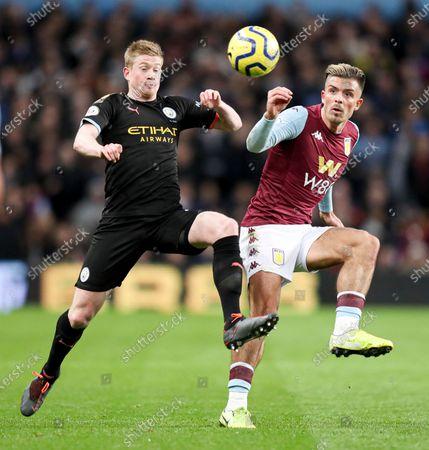 Editorial photo of Aston Villa v Manchester City, Premier League, Football, Villa Park, Birmingham, UK - 12 Jan 2020