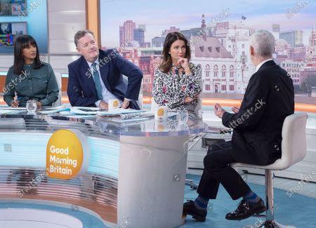 Editorial image of 'Good Morning Britain' TV show, London, UK - 08 Jan 2020