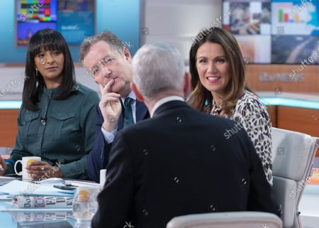 Editorial picture of 'Good Morning Britain' TV show, London, UK - 08 Jan 2020