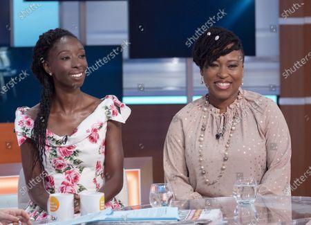 Stock Image of Eunice Olumide and Dr Shola Mos-Shogbamimu
