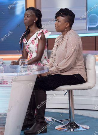 Eunice Olumide and Dr Shola Mos-Shogbamimu