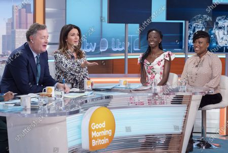 Editorial photo of 'Good Morning Britain' TV show, London, UK - 08 Jan 2020