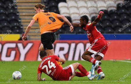 Editorial photo of Hull City v Fulham, EFL Sky Bet Championship, Football, KCOM Stadium, Hull, UK - 11 Jan 2020