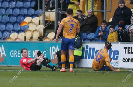 Editorial photo of Mansfield Town v Forest Green Rovers, EFL Sky Bet League Two, Football, One Call Stadium, UK - 11 Jan 2020