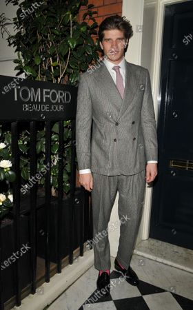 Editorial photo of The Tom Ford Beau De Jour fragrance launch party, Mark's Club, London, UK - 07 Jan 2020