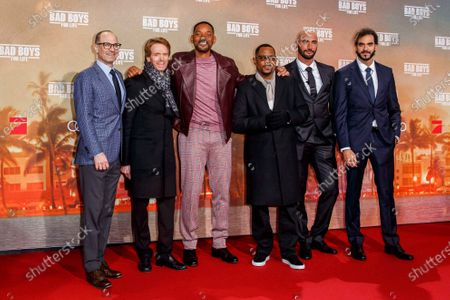 Editorial photo of 'Bad Boys For Life' film premiere, Berlin, Germany - 07 Jan 2020