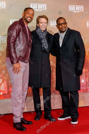 Will Smith, Jerry Bruckheimer and Martin Lawrence