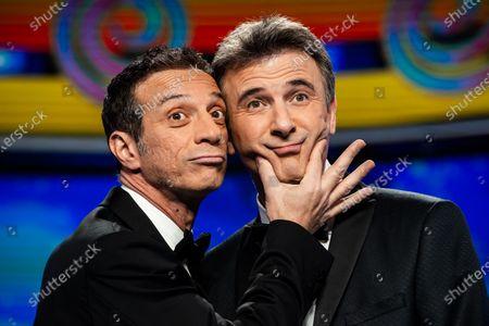 Editorial picture of 'Striscia la notizia' TV show, Milan, Italy - 08 Jan 2020