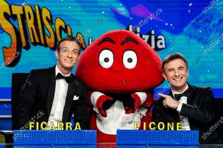 Editorial photo of 'Striscia la notizia' TV show, Milan, Italy - 08 Jan 2020