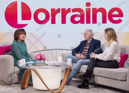 Lorraine Kelly, Colin Caffell and Cressida Bonas