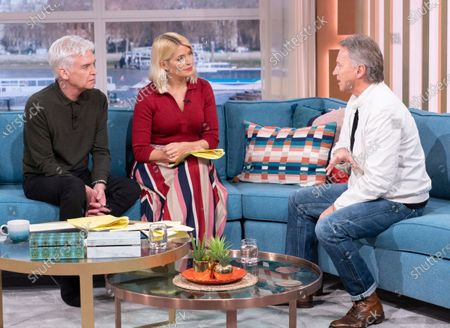 Phillip Schofield, Holly Willoughby, Robert Carlyle