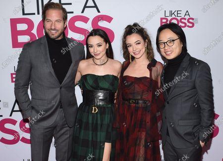 Ryan Hansen, Veronica Merrell, Vanessa Merrell, and Jimmy O. Yang
