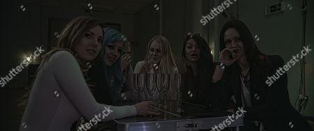 Jessica Messenger as Mira, Elesha Thorn as Alice, Jade Wallis as Sera, Holly Springett as Joey, Raluca-Sandra Moore as Jane and Sabine Crossen as Ana