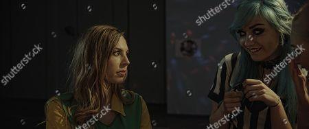 Jessica Messenger as Mira and Elesha Thorn as Alice