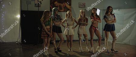 Jessica Messenger as Mira, Elesha Thorn as Alice, Holly Springett as Joey, Jade Wallis as Sera,  Raluca-Sandra Moore as Jane and Sabine Crossen as Ana