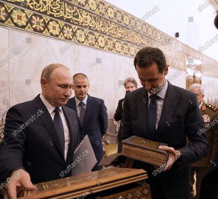 Editorial picture of Russian President Vladimir Putin visit to Damascus, Syria - 07 Jan 2020